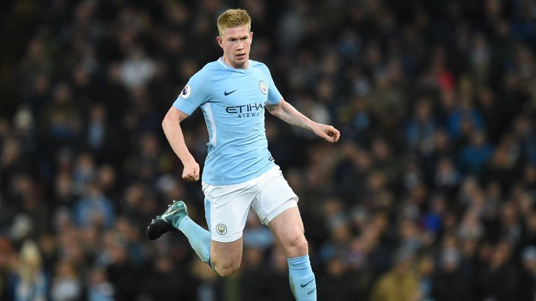 De Bruyne's display against Manchester United on December 12 particularly stood out for Souness this year