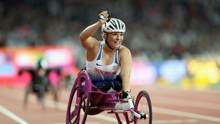 Samantha Kinghorn looking for more medals after double World gold in London
