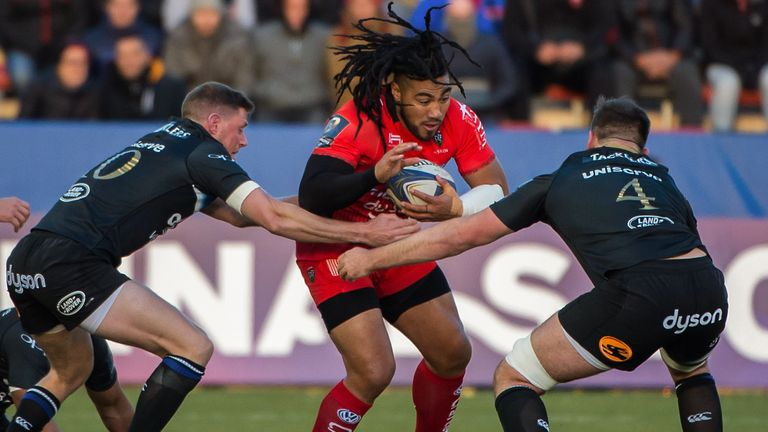 Ma'a Nonu was among the try scorers as Toulon secured a home victory over Bath in Champions Cup Pool 5