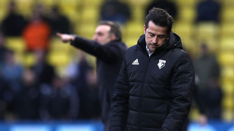 Silva was sacked by Watford after a run of one win in 11 games