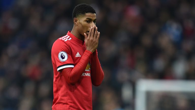 Marcus Rashford has been pushed down the pecking order