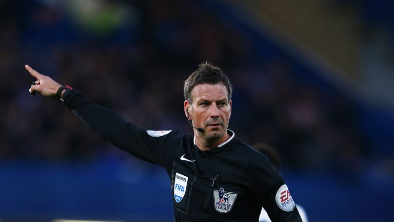 Mark Clattenburg had been included in the pre-selected group drawn up by FIFA in 2016
