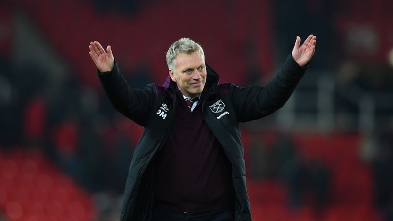 David Moyes wants to sign a centre-back, midfielder and striker in the January transfer window