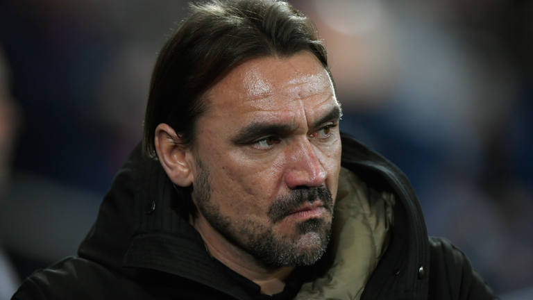 It was another disappointing evening for Norwich boss Daniel Farke
