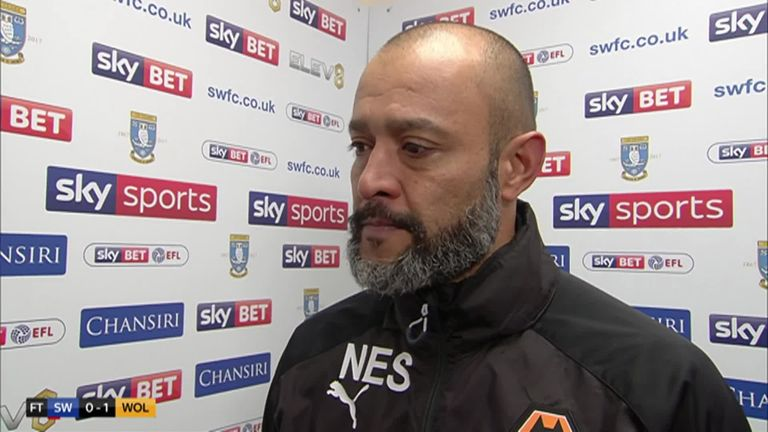 Wolves boss Nuno Espirito Santo is represented by Jorge Mendes