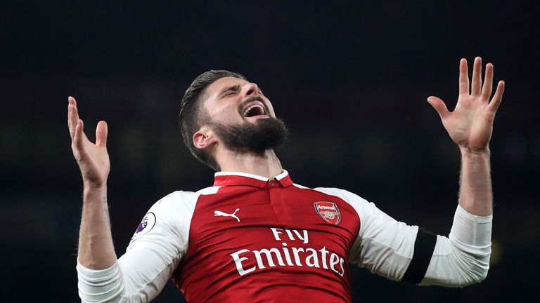 Olivier Giroud is aware he needs game time ahead of the World Cup next summer