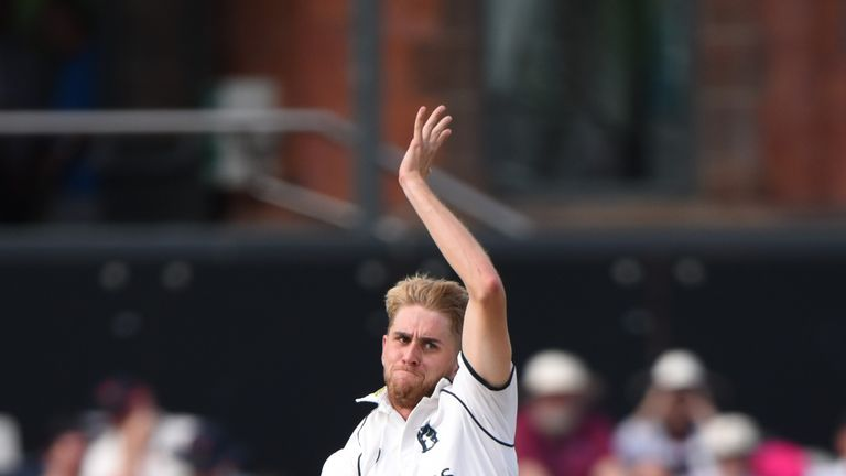 Warwickshire fast bowler Olly Stone could be an option on fast, bouncy tracks