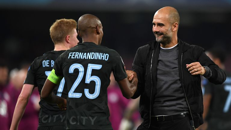 Pep Guardiola is expected to name a strong side on Sunday