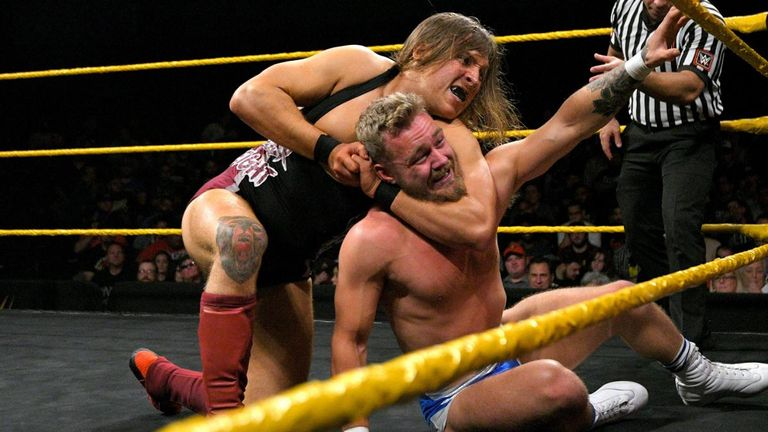 Tyler Bate sustained another loss to Pete Dunne in their latest United Kingdom title match