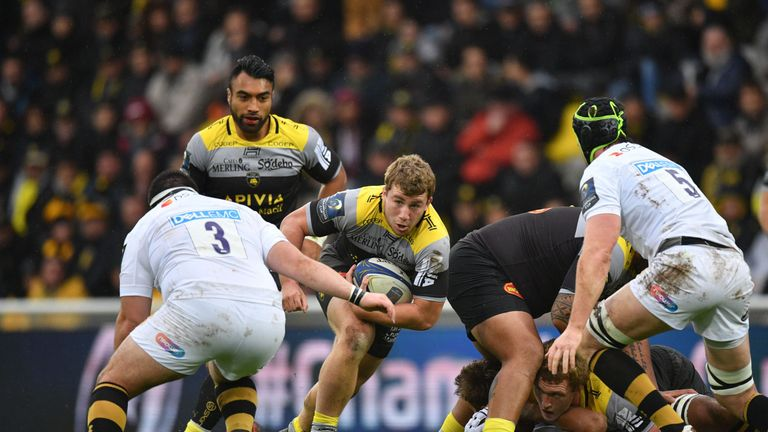 Pierre Bourgarit scored one of six tries for La Rochelle