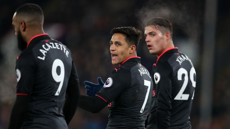 Alexis Sanchez has scored three in his last three starts