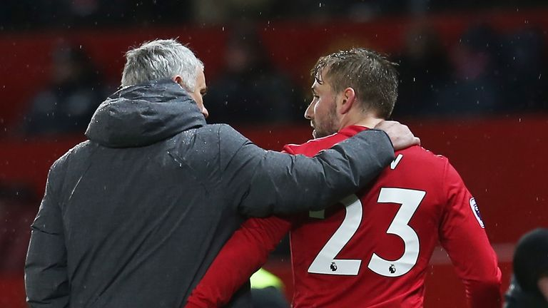 Jose Mourinho has reintegrated Shaw into the starting line-up over Christmas