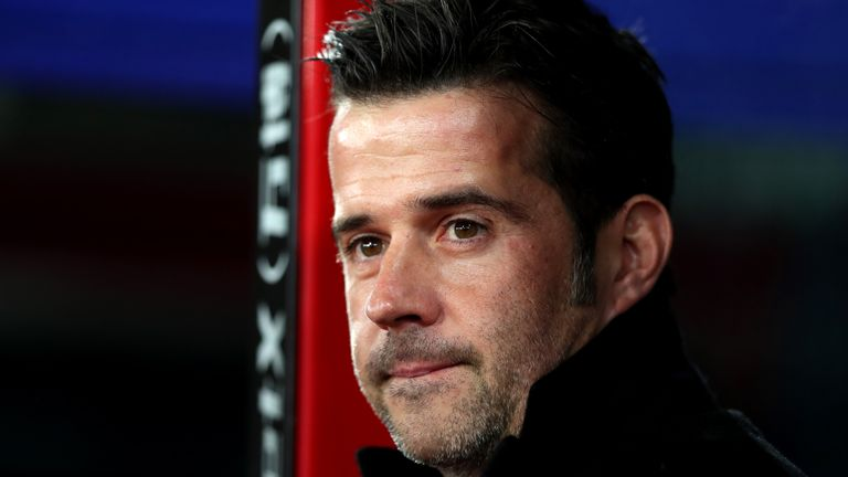 Marco Silva is the favourite to become the new Everton boss