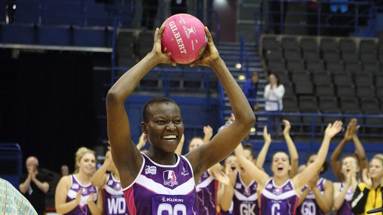 Peace Proscovia is one of three players to commit their future to Loughborough Lightning for 2018