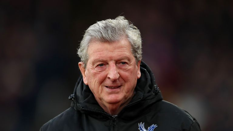 Roy Hodgson says he does not remember the rivalry between the two clubs when he supported Palace in the 1950s