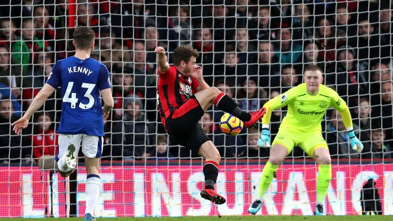 Ryan Fraser scored twice as Bournemouth beat Everton 2-1 at the Vitality Stadium