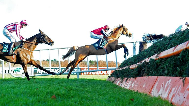 Simply Ned ridden by Mark Walsh