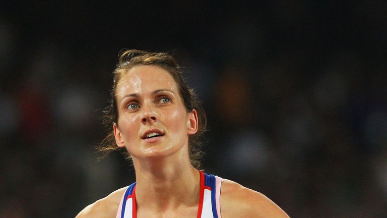 Kelly Sotherton finished fifth in heptathlon at the 2008 Olympics in Beijing
