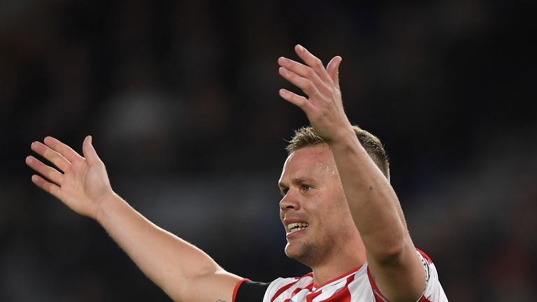 Ryan Shawcross says Stoke players have been putting in the effort, but lack quality