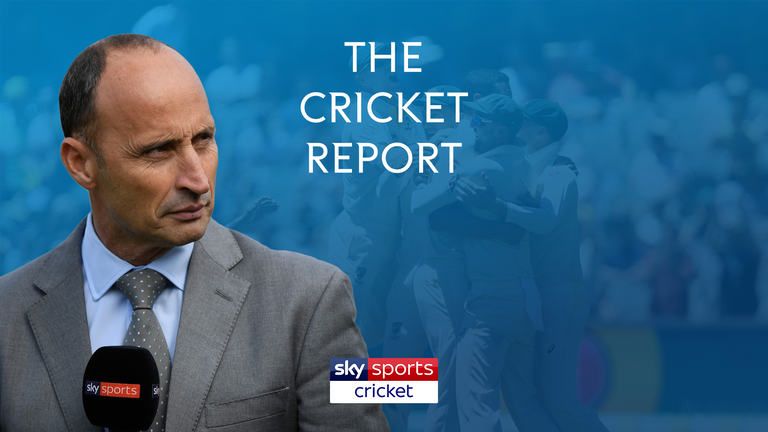 Watch The Cricket Report from 7.30pm on Friday on Sky Sports Cricket