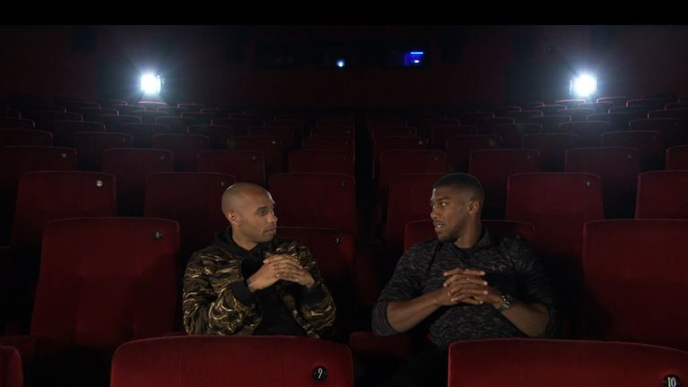 Thierry Henry and Anthony Joshua talk boxing, past, present and future in part two of their exclusive interview