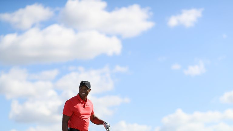 Tiger Woods made an encouraging return to competitive golf after 10 months out