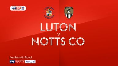 Luton 1-1 Notts County