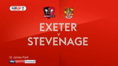 Exeter 2-1 Stevenage
