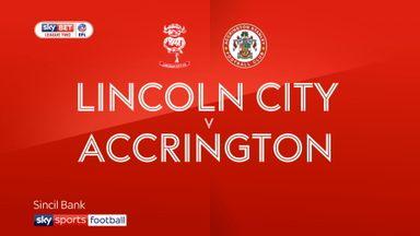 Lincoln City 2-0 Accrington