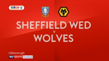 Sheffield Wed 0-1 Wolves