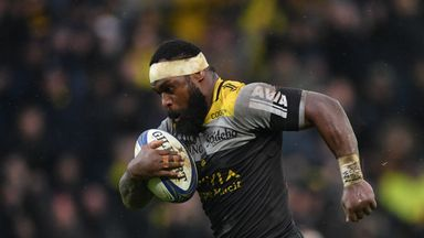 Levani Botia scored two tries for La Rochelle against Wasps on Sunday