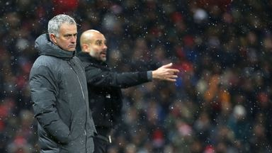 Jose Mourinho had milk thrown at him in the tunnel at Old Trafford on Sunday, according to Sky sources