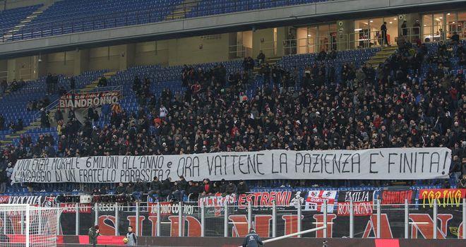 Milan goalkeeper Gianluigi Donnarumma in tears after fans jeer him