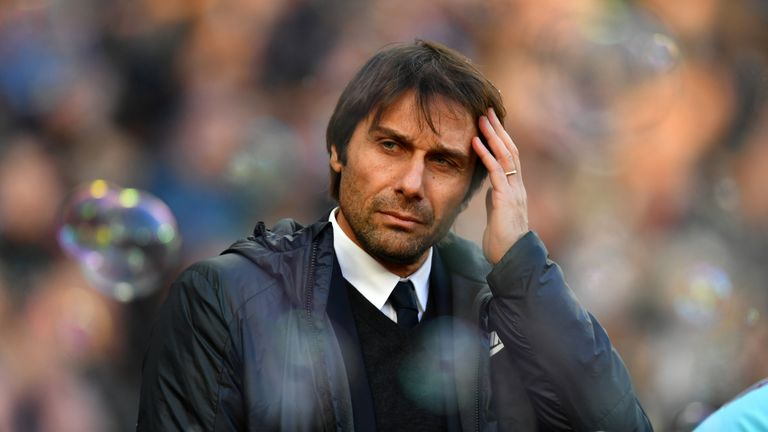Antonio Conte insists the top four is his immediate concern after losing to West Ham on Saturday