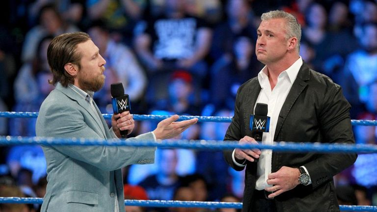 Daniel Bryan and Shane McMahon continue to enjoy a frosty relationship on SmackDown