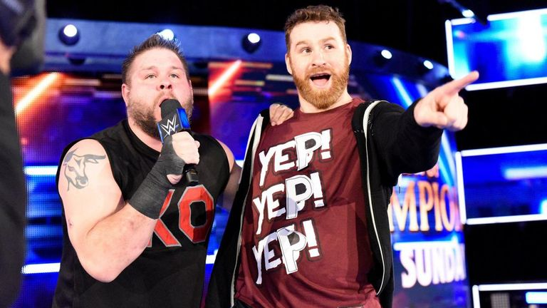 "Kevin Owens and Sami Zayn launched their ""yep"" movement on this week's SmackDown"