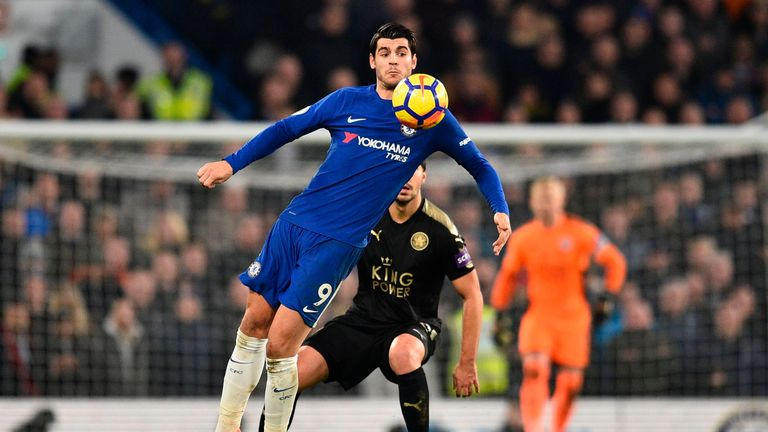 Alvaro Morata will not feature for Chelsea