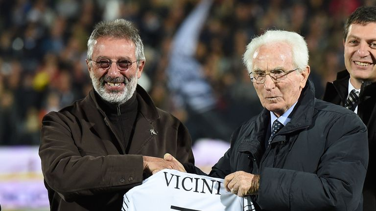 Ex-Italy football coach Vicini dies
