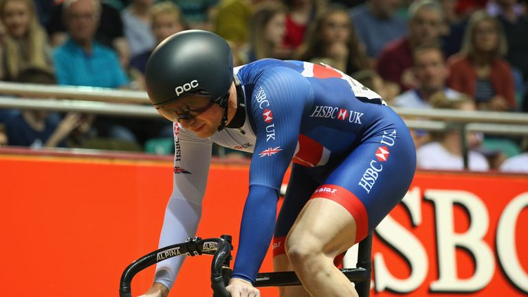 Jason Kenny will compete at the British National Track Championships later this month