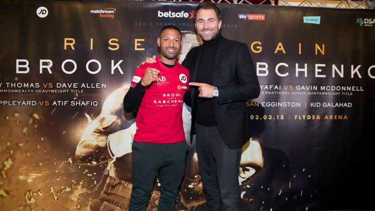 Eddie Hearn will be answering your Kell Brook questions
