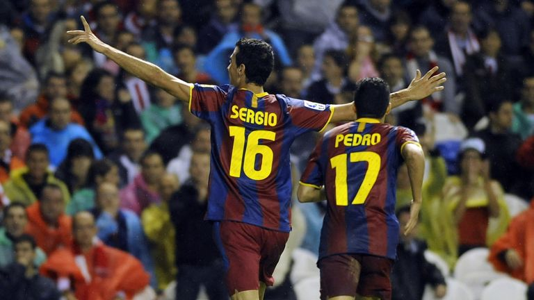 Sergio Busquets and Pedro played for Barca B but few would go on to stardom