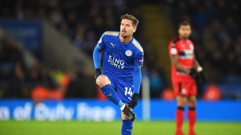 Adrien Silva made his Leicester debut against Huddersfield