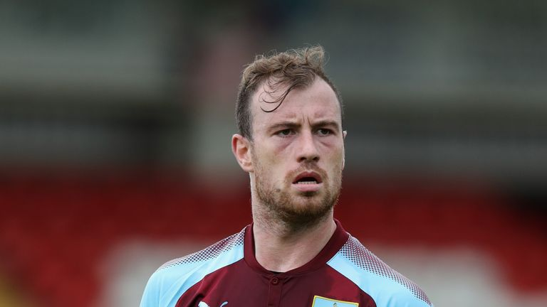 Ashley Barnes has 18 months remaining on his Burnley contract
