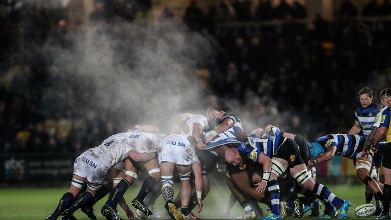 Worcester were second best in almost every area to Bath