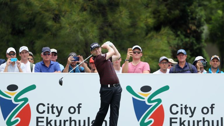 Branden Grace rolled in three eagles in his opening 65