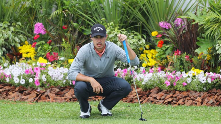 European Tour rookie Chase Koepka set the early pace on seven under