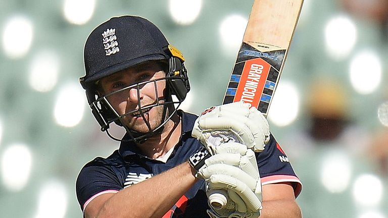 England's Chris Woakes played a starring role with the bat in the ODI series win over Australia
