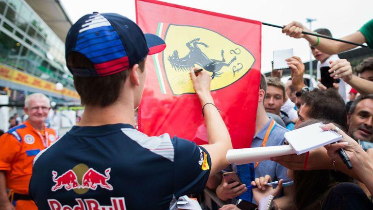 Russia's Daniil Kvyat becomes F1 Scuderia Ferrari's development driver