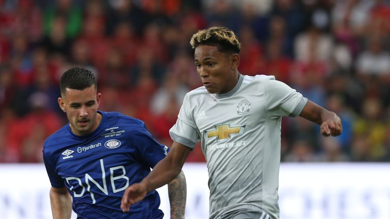 Man Utd's Demetri Mitchell joins Hearts on loan