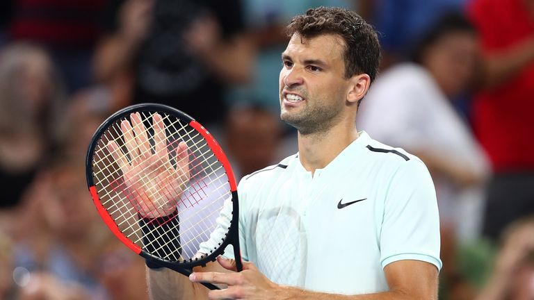 Grigor Dimitrov is the second seed in Rotterdam